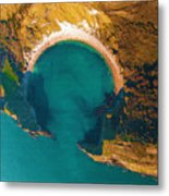 Jurassic Coast From The Air Metal Print