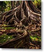 Jurassic Park Tree Trailing Root Metal Print