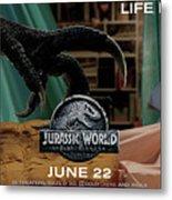 Jurassic World Fallen Kingdom 2.5 Metal Print