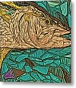 Just A Fish Metal Print