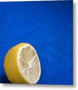 Just A Lemon Metal Print