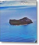 Just An Island Away Metal Print