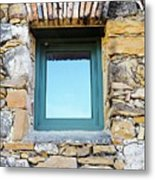 Just Another Historic Window Metal Print