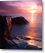 Just Another Superior Sunrise. Metal Print by Jamie Rabold