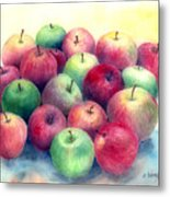 Just Apples Metal Print