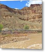 Just Around The River Bend 6 Metal Print