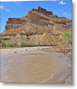 Just Around The River Bend 7 Metal Print