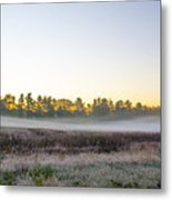 Just Before Dawn At Valley Forge Metal Print