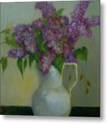Just Lilacs                 Copyrighted Metal Print