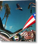 Just Ride Metal Print