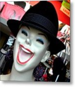 Just Try Laughing Gas Metal Print