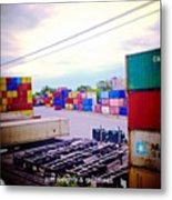 Just Weights And Measures Metal Print