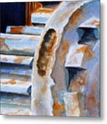 Just Won't Budge Metal Print by Marsha Elliott