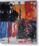 Justice Is Blind Metal Print
