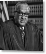 Justice Thurgood Marshall 1908-1993 Metal Print