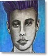 Justin Bieber-daydreaming  Metal Print