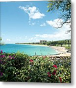 Kaanapali Maui Hawaii Metal Print