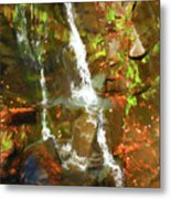 Lazy Flow Metal Print
