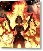 Kabaneri Of The Iron Fortress Metal Print