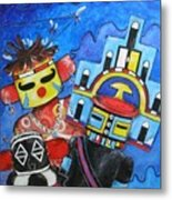 Kachina Knights Metal Print