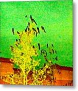 Kafka Summons His Birds To The Castle Metal Print