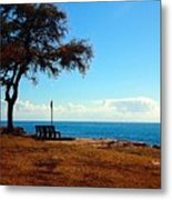 Kahe Point Beach Park Metal Print