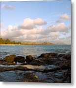 Kailua Bay Sunrise Metal Print