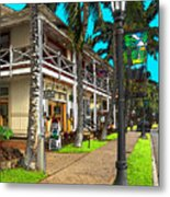 Kailua Village - Kona Hawaii Metal Print