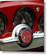Kaiser Steering Wheel Metal Print