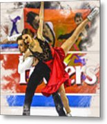 Kaitlin Hawayek And Jean-luc Baker  Metal Print