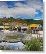 Kaitoura Nz Panorama Metal Print