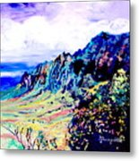 Kalalau Valley 4 Metal Print