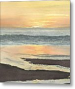 Kalaloch Sunset II Metal Print