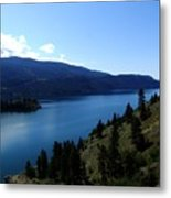 Kalamalka Lake Metal Print