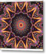 kaleido Perf10 9cAvi 44 Metal Print
