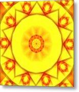 Kaleidoscope 100 Metal Print