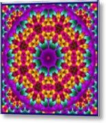 Kaleidoscope 4 Metal Print