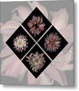 Kaleidoscope Diamond Metal Print