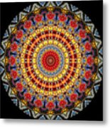 Kaleidoscope No.5 Metal Print