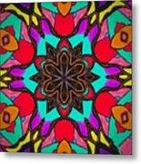 Kaleidoscope Of Color Metal Print