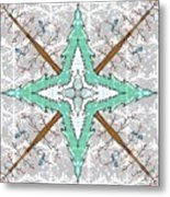 Kaleidoscope Of Winter Trees Metal Print