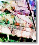 Kaleidoscope Vision Metal Print