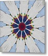 Kaleidoscopic 5 Metal Print