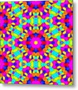 Kaleidoscopic Mosaic Metal Print
