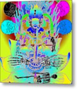 Kali Yuga Metal Print by Eric Edelman