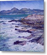 Kalk Bay And Fish Hoek  Cape Town South Africa 2006  Metal Print