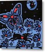 Kamwatisiwin - Gentleness In A Persons Spirit Metal Print by Chholing Taha