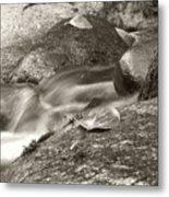 Kanaka Creek Bw Metal Print