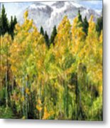 Kananaskis Autumn Morn Metal Print
