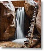 Kanarraville Falls Metal Print
